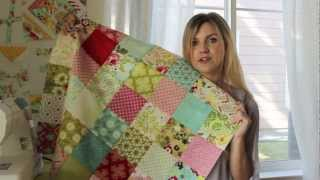 Patchwork: Chain Piecing and Nesting Seams How To