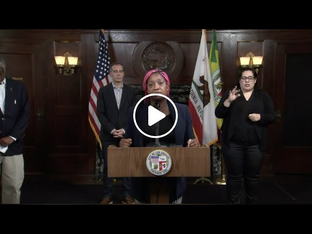 Rev Najuma Message at Los Angeles City Hall