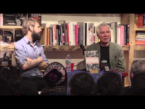 Glyn Johns and Ben Bridwell at BookCourt