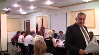 Заседание совета депутатов муниципального округа Нижегородский  27 05 2014г