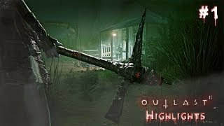 OUTLAST 2 HIGHLIGHTS SCARIEST MOMENTS!!
