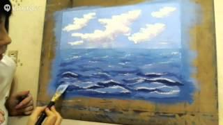 Морское путешествие. Как нарисовать море?(Это видео создано с помощью видеоредактора YouTube (http://www.youtube.com/editor), 2014-01-24T21:24:29.000Z)