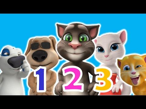 เพลง 123 นับเลข 1-10 ภาษาอังกฤษ | one two tree song