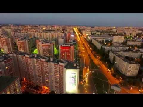 Воронеж, северный район, Бульвар победы / аэросъёмка
