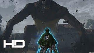 ATTACK ON TITAN (PC) Season 2: Levi God Mode VS Ape Beast Titan SECRET Boss Battle (English Sub)