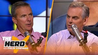 Download Urban Meyer joins Colin to talk Tua Tagovailoa and Michigan's must-win mentality | CFB | THE HERD Mp3 and Videos