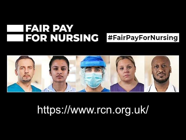 RCN Fair Pay For Nursing