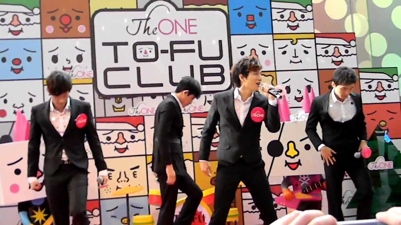LOLLIPOP F - 電司DANCE @ THE ONE豆腐人開幕禮 - YouTube