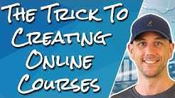 How To Create Online Courses The Easy Way.  Stop Struggling To Map Out Your Online Course & Do This