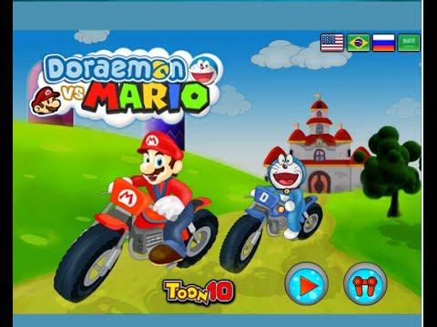 Doraemon Games Doraemon Bike Games Youtube