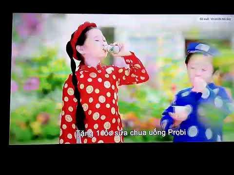 Quảng cáo Vinamilk Sữa chua – Khuyến mãi Tết 2019,Li xi PROBI Thật Hap Dẫn!