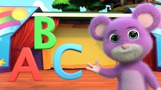 Alphabet Song | ABC for Child | 3D Kindergarten - Kids Songs - For Babies | Nursery Rhymes for Kids