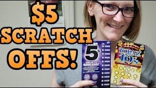 $40 BUCKS IN $5 SCRATCHERS!
