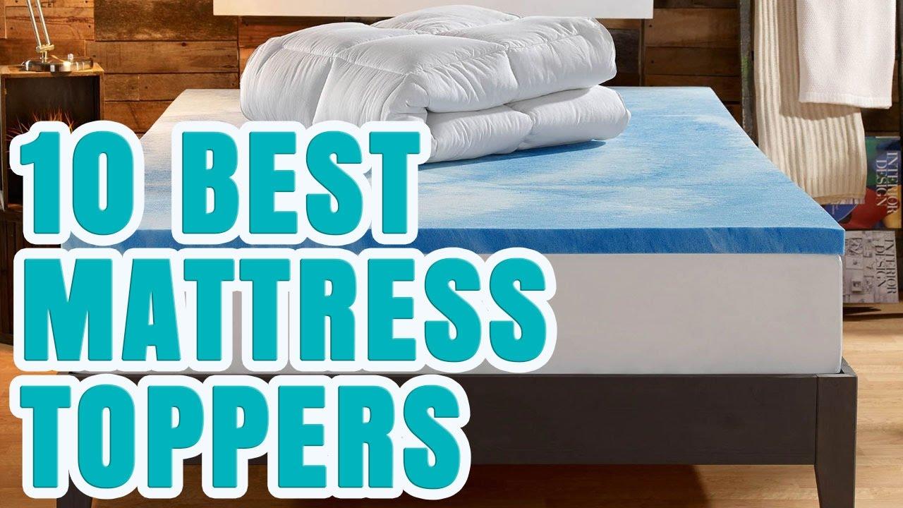 Best Mattress Topper 2017 Top 10 Toppers