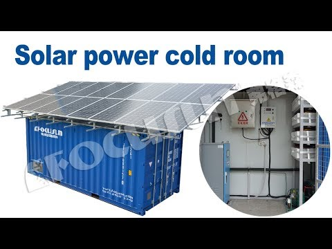 Focusun Solar Power Cold Room
