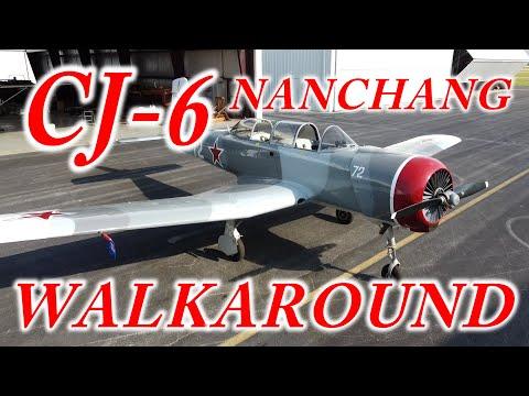 Nanchang CJ-6 Walkaround Tour