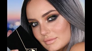 abh prism palette makeup look my first time using it chloe morello