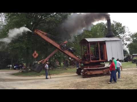 Ohio Valley Antique Machinery Show Steam Shovel on the move