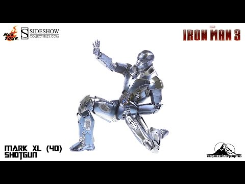 "Hot Toys Iron Man 3 Mark XL(40) ""Shotgun"" Video Review thumbnail"