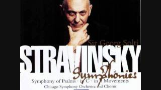 Stravinsky - Symphony of Psalms Mvmt I = 92