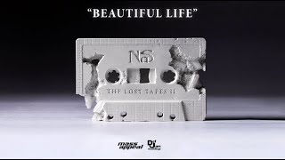 Nas - Beautiful Life (feat. RaVaughn) (Prod. by No I.D.) [HQ Audio]