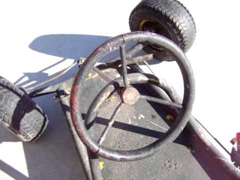Vintage Antique Go Kart... What kind is it?