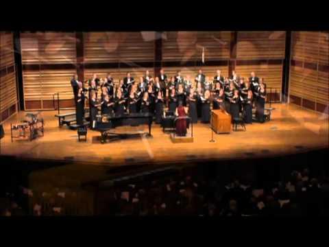Gaudete by Steven Sametz, performed by the Calvin College Alumni Choir