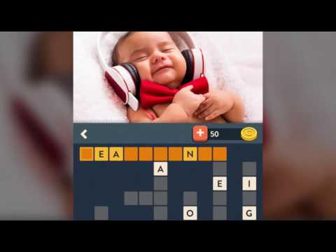 Wordalot A Picture Crossword -  Gameplay