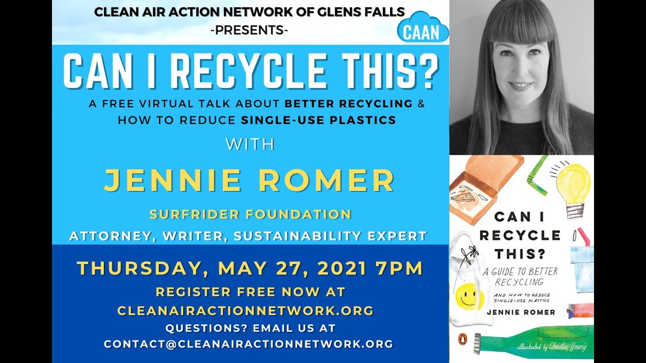 Annual Board Meeting - With talk by Jennie Romer [Can We Recycle This?]