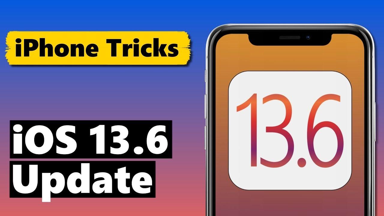 iOS 13.6 Update DAS sind die NEUEN Funktionen ⚠️