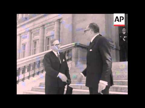 SYND 18/7/69 PRESIDENT OF THE EEC MEETS FRENCH FOREIGN MINISTER
