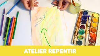 """Atelier """"le repentir en peinture"""" autour du travail de Florence Reymond"""