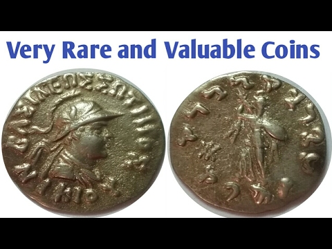 Very Rare and Most Valuable Coins of Indo-Greek Kingdom