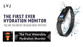 lvl the first wearable hydration monitor