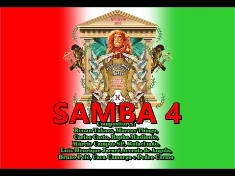 Download 🔴X-9 Paulistana 2018 - Samba 4 - Concorrente ( Renan Takacs e Cia)