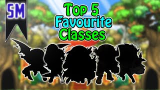 MapleStory: My Top 5 Favourite Classes! [2016]