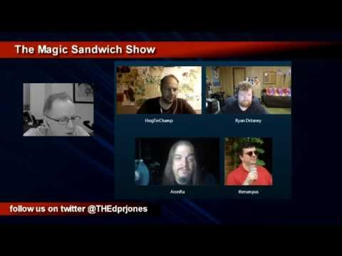 TheMagicSandwichShow, No. 125, With Aronra, Hogtie, Ryan and therumpus