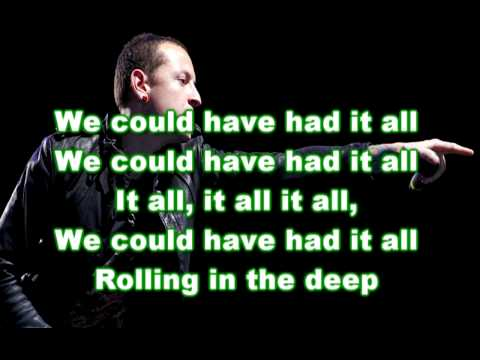 linkin park-rolling in the deep lyrics