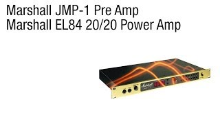 Repeat youtube video Marshall JMP-1 Preamp + EL84 Power Amp Review