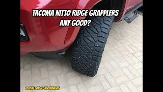 Tacoma Nitto Ridge Grapplers Any Good?