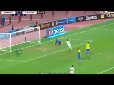 اهداف الزمالك وصن داونز 1 0 اليوم 23 10 2016 اياب نهائي دوري