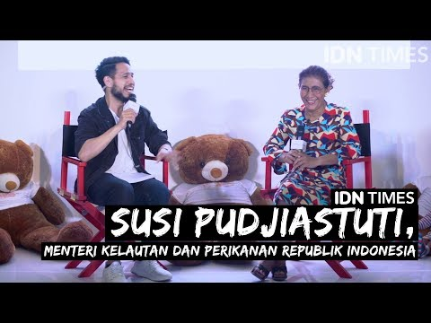 Suara Millennial Season 1 [Eps.2] Susi Pudjiastuti Jawab Isu Cawapres Jokowi 2019