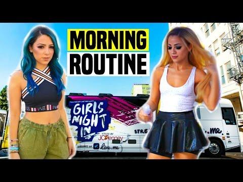 Morning Routine 2016 on TOUR!
