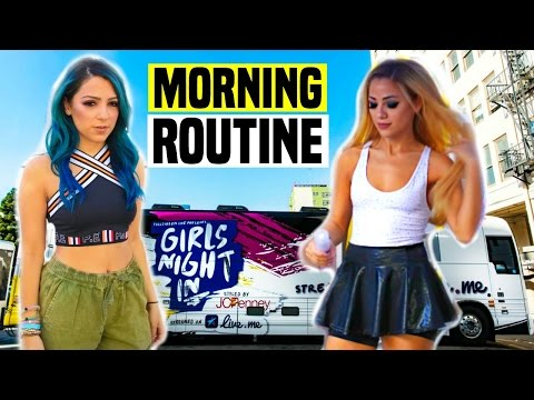 Thumbnail: Morning Routine 2016 on TOUR!