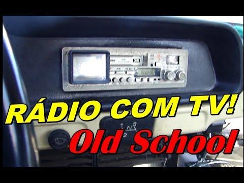 Sistema de Som old school com TV na Brasília Cremosa 1976