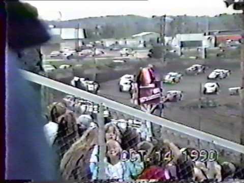Peoria Speedway  make-up Feature - 10/14/90