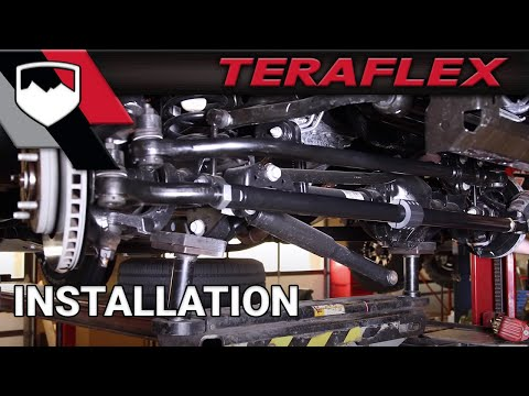 TeraFlex Install: JK HD Tie Rod & Drag Link Kit