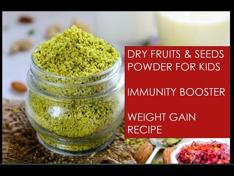 dry-fruits-&-seeds-powder-for-kids-|-weight-gaining-recipe-|-momcafe
