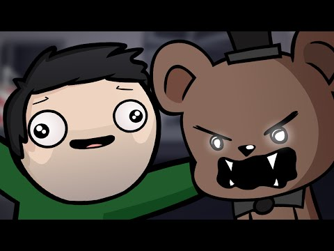 Five Nights at Freddy's Parody! (DaithiDeNogla Animated) PART 1