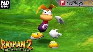 Rayman 2: The Great Escape - PC Gameplay 1080p